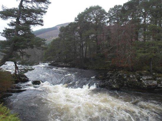 Dochart Falls : 17 January 2014