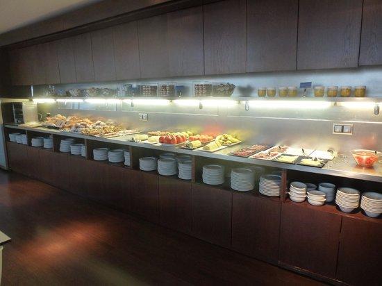 Ayre Hotel Astoria Palace : Petit déjeuner.