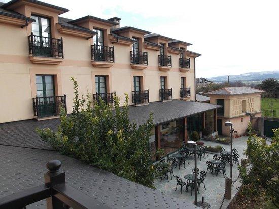 O Cabazo do Zacurro: Desde la terraza de la habitación