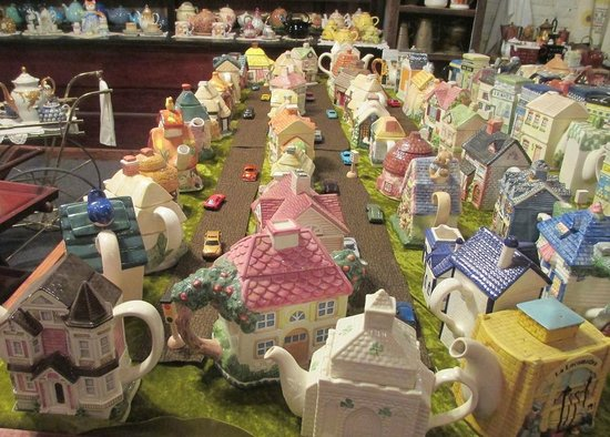 Elloree, Carolina del Sur: A whole little town of Teapots.