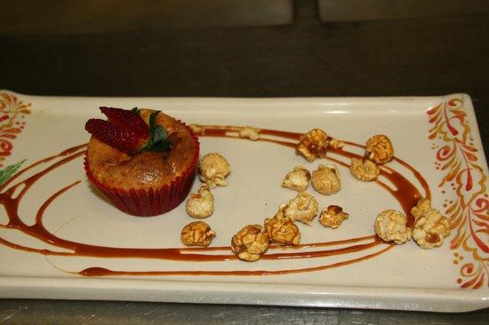 Epazote: Corn Kernels Cake - delicious