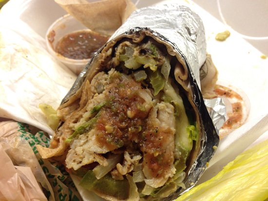 Keese's Simply Delicious: The best wrap with grilled fish