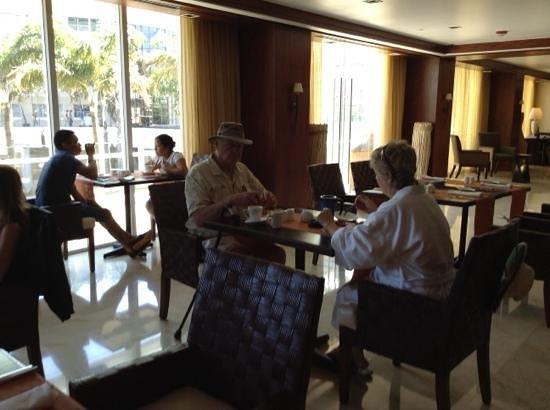 Real InterContinental Costa Rica at Multiplaza Mall: club room breakfast