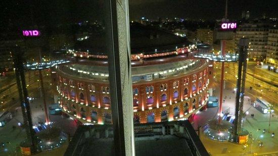 Catalonia Barcelona Plaza: Les arenes vues de la suite