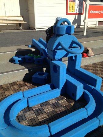 Bay Area Discovery Museum : Foam build blocks