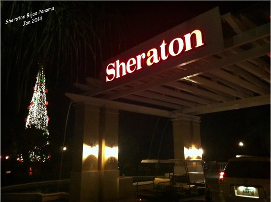 Sheraton Bijao Beach Resort : Hotel entrance