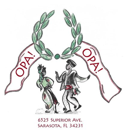 Opa! Opa! Authentic Greek Restaurant : OPA LOGO