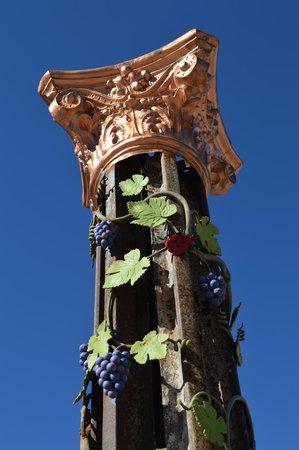 Arizona Copper Art Museum: Pillar