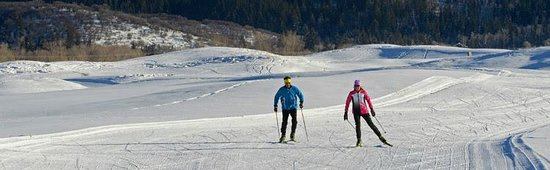 Haymaker Golf Course: Haymaker Nordic skiing - 233 acres of groomed bliss