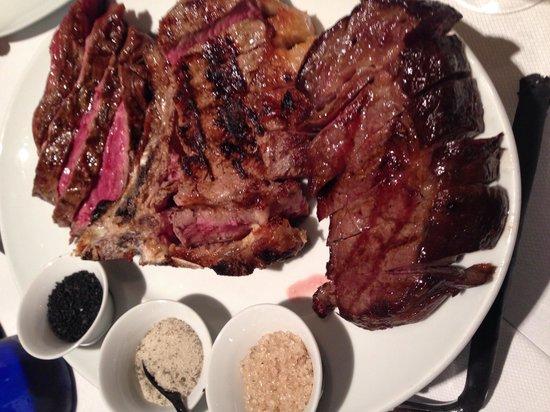 Al Posto Fisso: Carne eccellente: Kobe-Con Osso-Prussiana