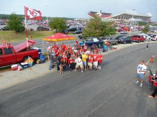 Arrowhead Stadium: Our Tailgating Family!