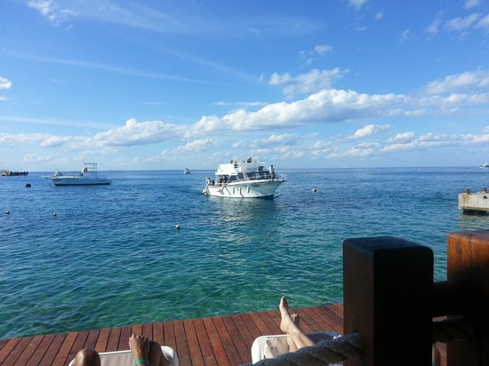 Grand Park Royal Cozumel: view from sundeck