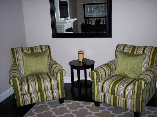 The Grand Idyllwild Lodge : Sitting area