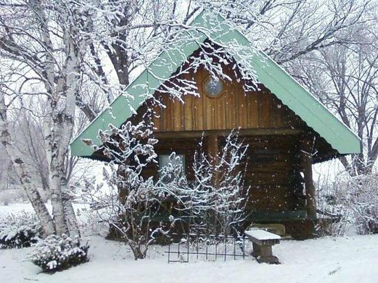 Justin Trails Resort: Little House on the Prairie Log Cabin
