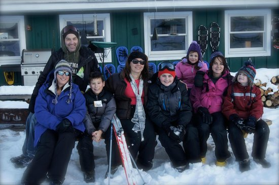 Justin Trails Resort: Guests enjoying winter