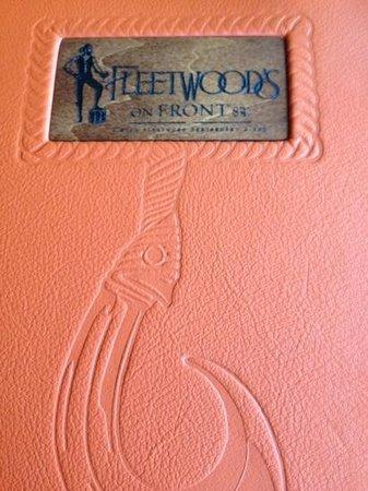Fleetwood's on Front Street: Dessert menu