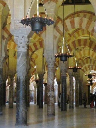 Cathédrale de Cordoue : Colunas