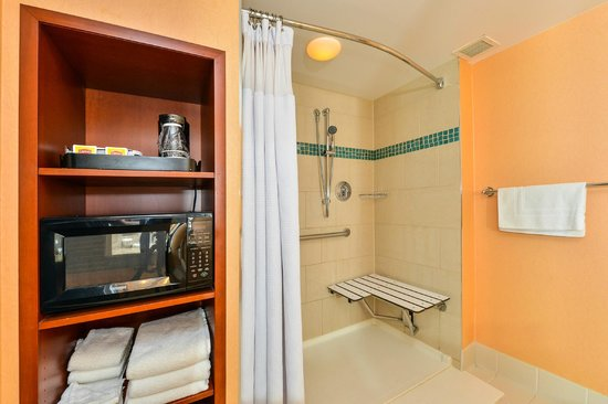 Crowne Plaza Dulles Airport Hotel: Handicap Accessible Shower available