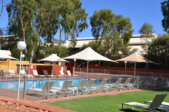 Desert Gardens Hotel, Ayers Rock Resort : Quite nice with few users.