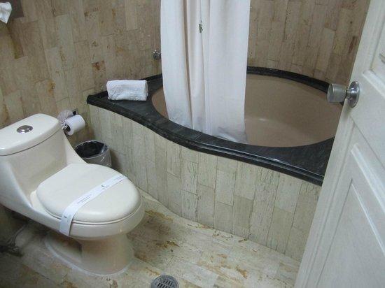Hotel Century Zona Rosa Mexico: Bathtub