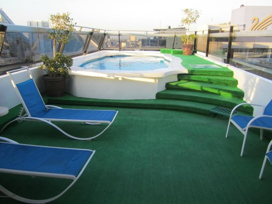 Hotel Century Zona Rosa México: Rooftop pool