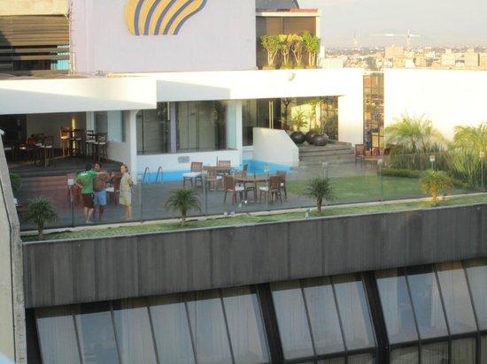 Hotel Century Zona Rosa México: View from pool
