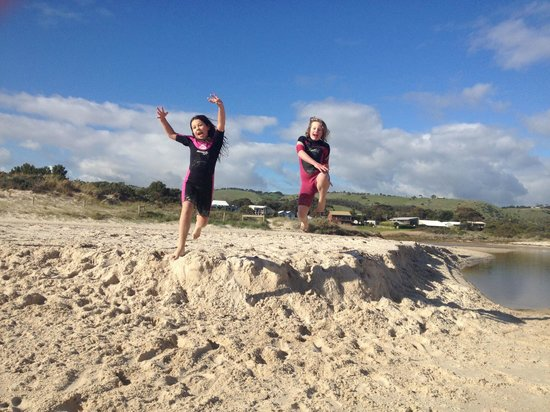 Carrickalinga, Αυστραλία: Leap!