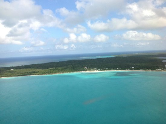 Shannas Cove Resort: View from Air