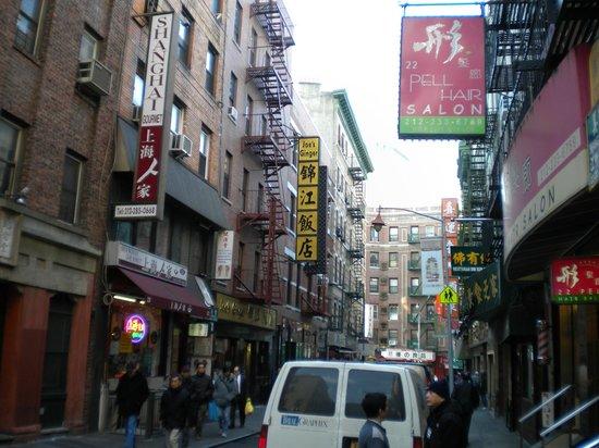 Chinatown: Straße