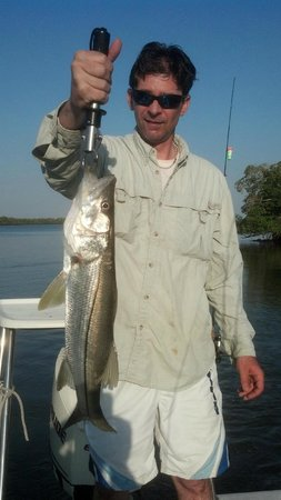 Outgoing Charters - Private Trips : Nice Snook KMV