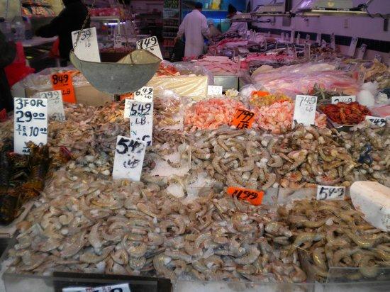 Chinatown: Fisch Geschäft