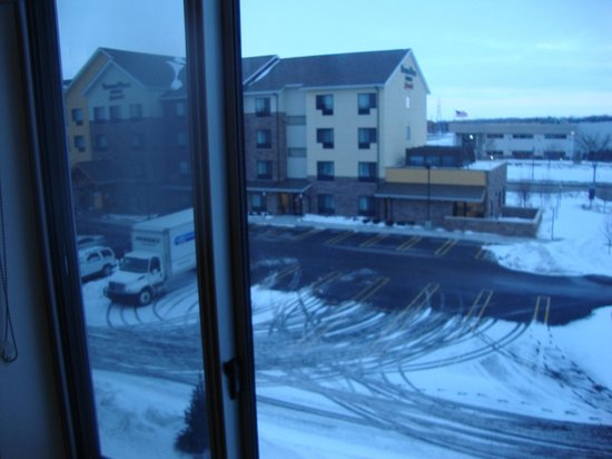 SpringHill Suites Saginaw: View from 3rd floor