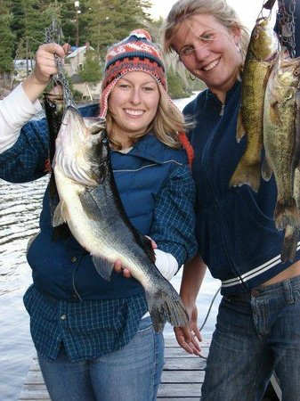 Tornado's Canadian Resorts: great fishing