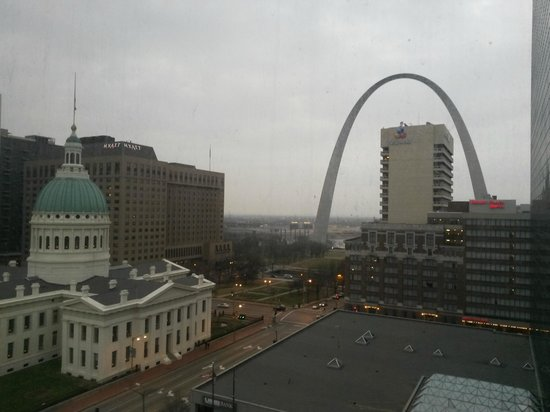 Hilton St. Louis at the Ballpark: View from our room