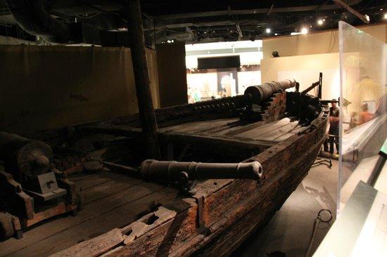 National Museum of American History : Gunboat Philadelphia