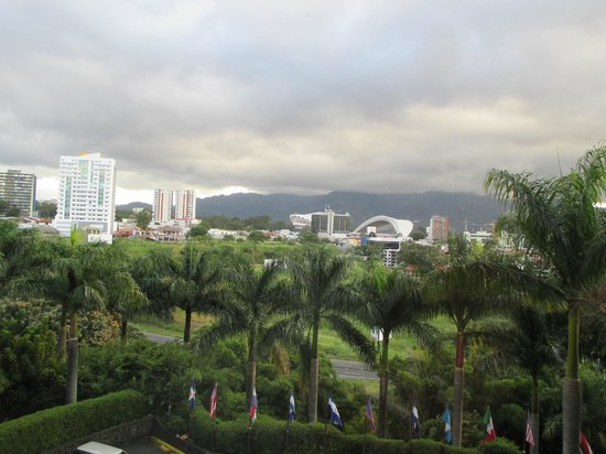 Barcelo San Jose: The view from my room.