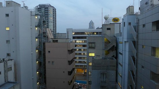 Hotel Monterey Ginza : Uninspiring view but you're not here for the view