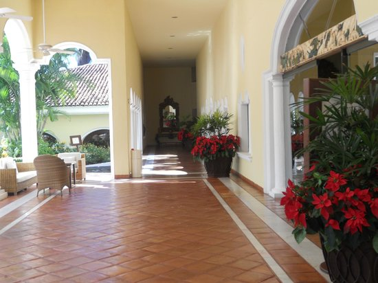 Casa Velas: Outside the Lobby