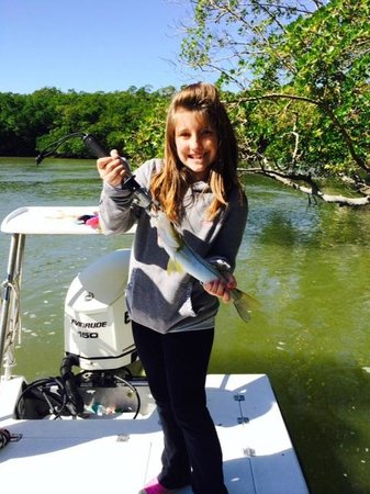 Outgoing Charters - Private Trips: K's First Snook