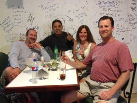 El Foco : Gooey Tacos in Cozumel