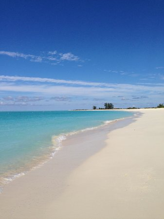 The Meridian Club Turks & Caicos: Beach view