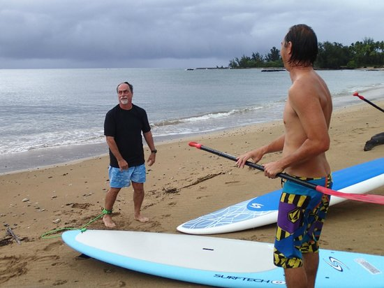 Boarding House Surfboard Rentals: Getting instruction