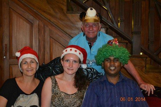 Warahena Beach Hotel : рождество
