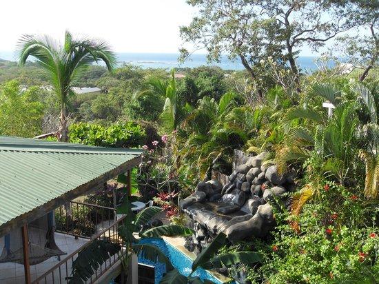 Casa Bambora: View from balcony of 3rd floor studio