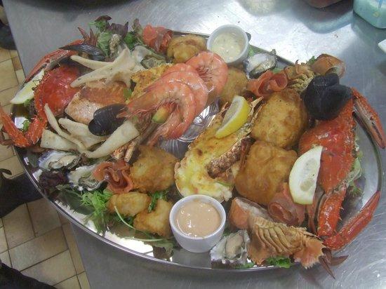 Slipway on Wallis: Seafood Platter