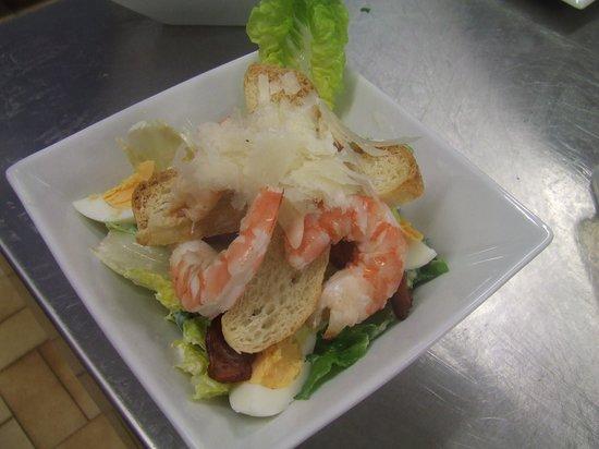Slipway on Wallis: Prawn Seafood Salad