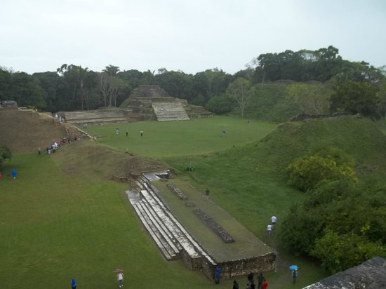Altun Ha Ruins: View from the top