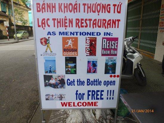 Lac Thien Restaurant : recommendations