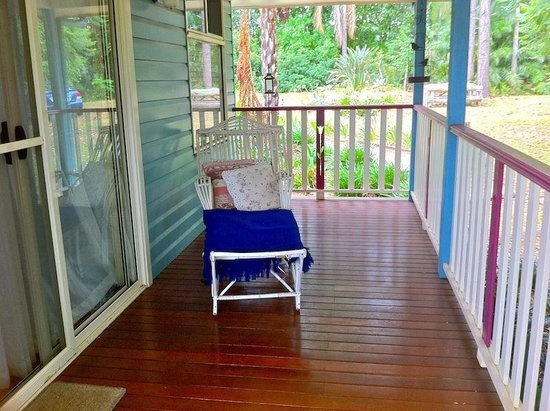 Pines on the Plateau: Relax on the verandah