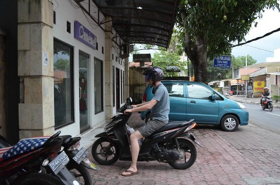 Balitis Home Stay: Rented bike from the hotel